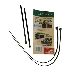 Cable Tie Kit for Hayrack Installs