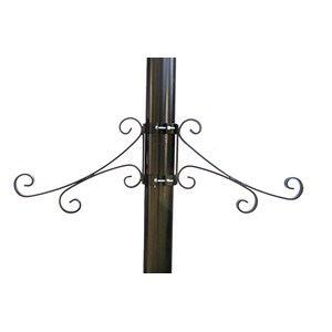 Custom Lamppost Scroll Bracket - Double