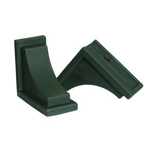 Nantucket Decorative Brackets - Green