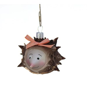 Mrs. Hedgehog Ornament