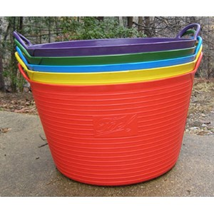 Colorful Trug Tubs - multiple colors