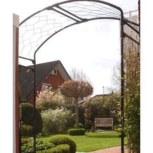 Monet Garden Arch with Lattice Infill - Classic Extra