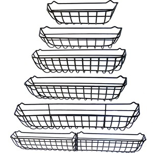 "Window Hayrack sizes from 24"" to 72"""