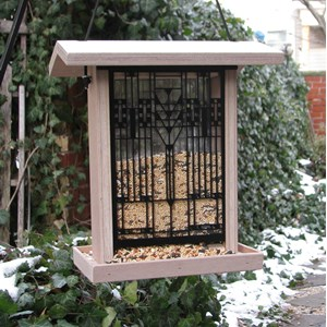 Darwin D Martin House Hopper Style Bird Feeder