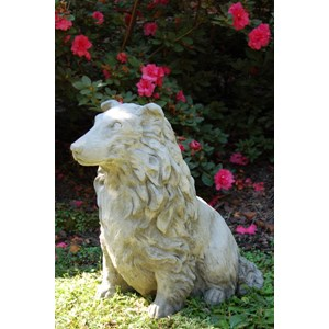 Sheltie Dog Statue