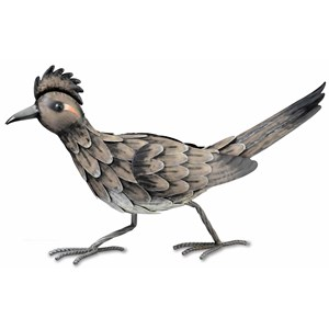 Roadrunner metal decor