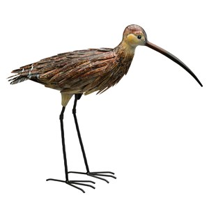 Curlew Up metal statue