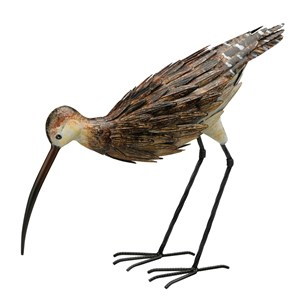 Curlew Down metal statue