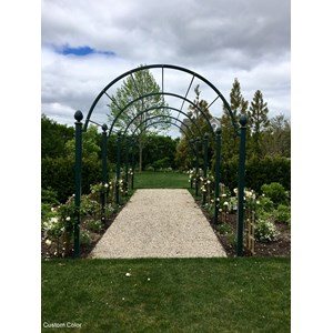 St Albans custom color pergola
