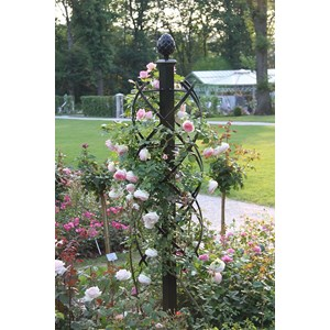 Charleston Rose Pillar - Classic Garden Elements