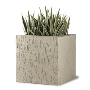Beton Large Fiberglass Planter - looks like Concrete