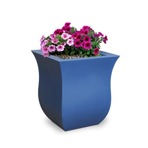 Valencia Patio Planter - Neptune Blue