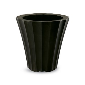 Mikonos lightweight resin planter - Old Bronze