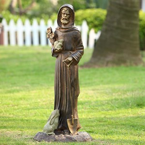 St Francis and Friends Statue
