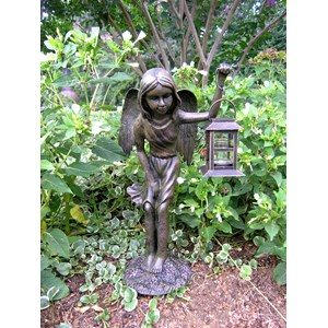 Angel Girl Garden Lantern