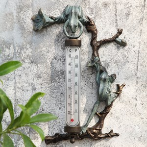Wall Mount Frog Thermometer