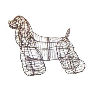 Cocker Spaniel Topiary Frame