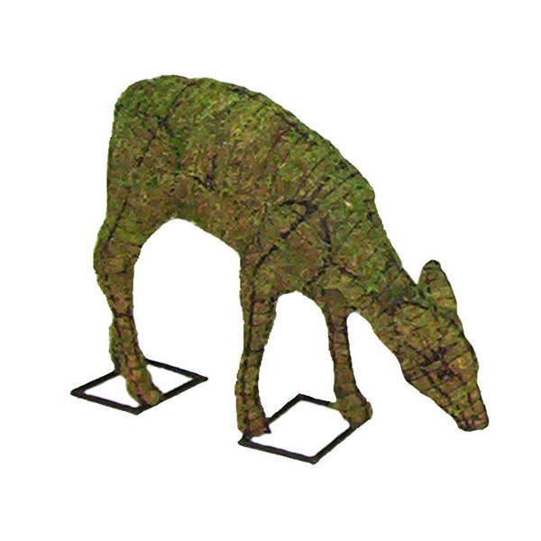 Mossed Doe Topiary Frame