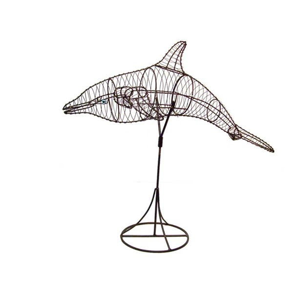 Dolphin Topiary Frame
