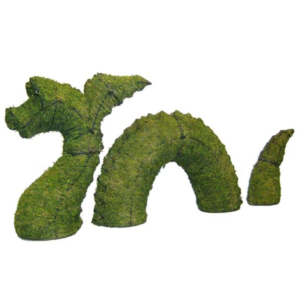 Mossed Nessie Topiary Frame