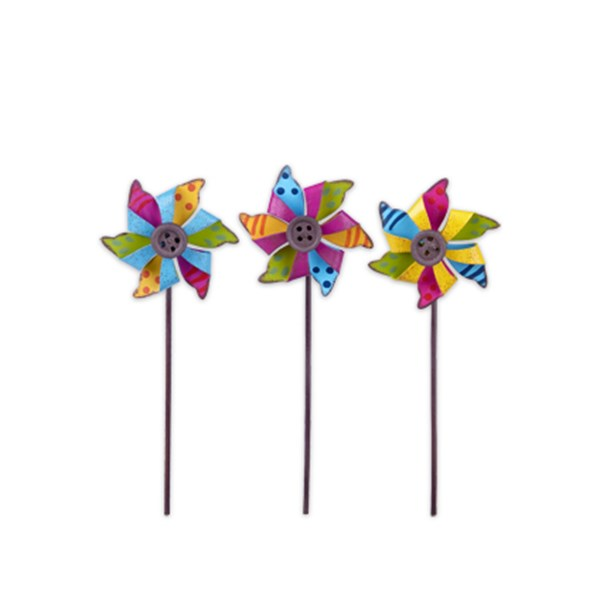 Mini Pinwheel Picks - Set of Three