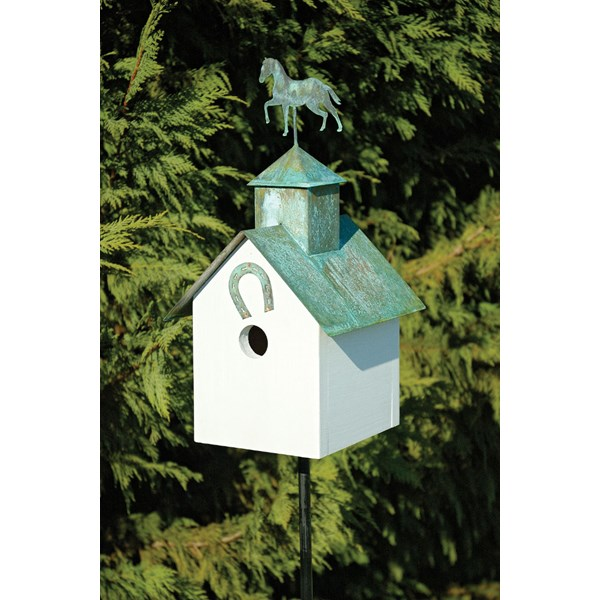 Sleepy Hollow Birdhouse - Horse