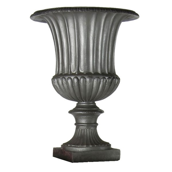Fluted Urn - 23x11x30 - Faux Lead