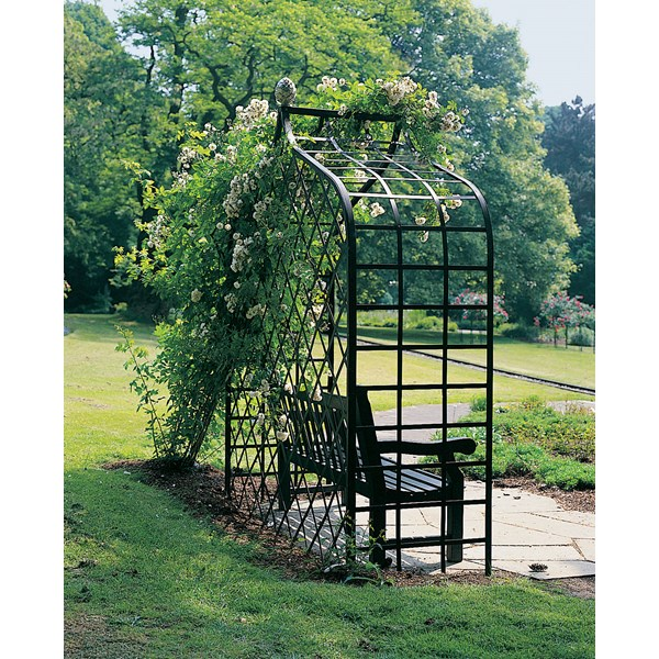 Victorian Enclosed Garden Arbor - Classic Garden Elements