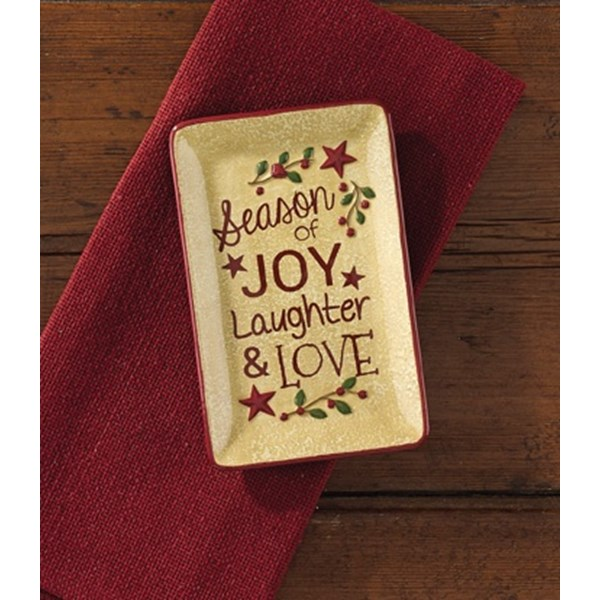 Season of Joy, Laughter & Love Spoon Rest
