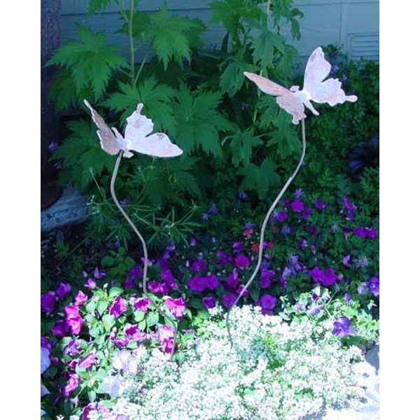 Butterfly Pair Garden Stakes