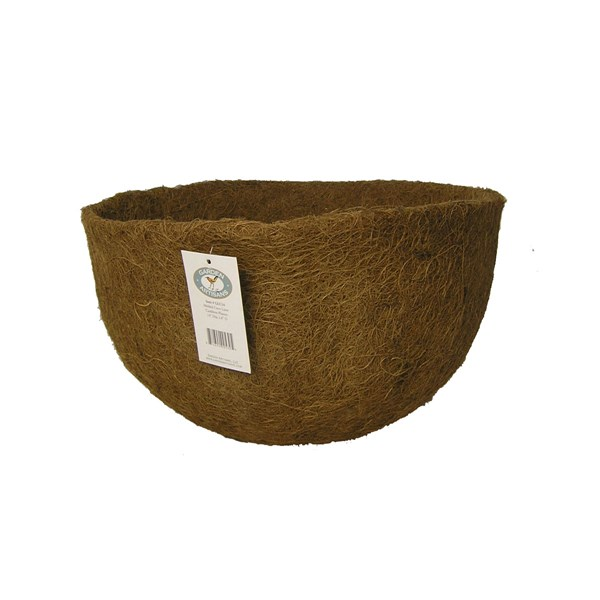 "Coco Liner for 14"" x 8"" Cauldron Planter"
