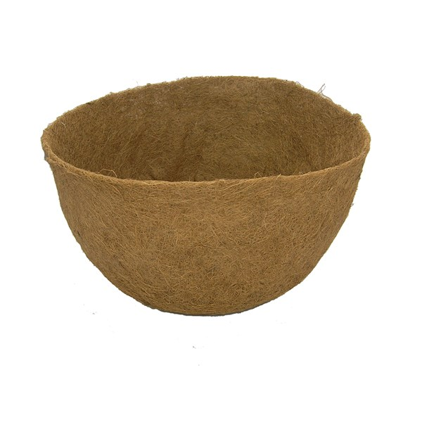 "Molded Coco Liner for 17"" x 9-1/4"" Basket"