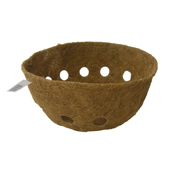 "Molded Coco Liner for 16"" Single Row Side Planting Basket"
