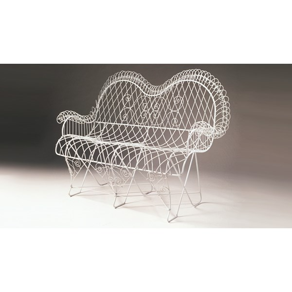 French Wire Settee