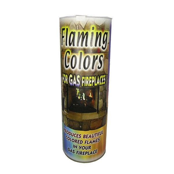 Flaming Colors for Gas Fireplaces