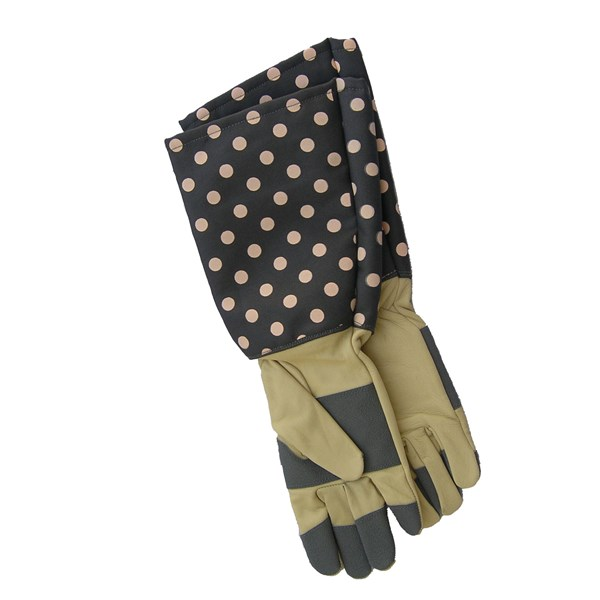 Rose Gauntlet Gloves for Women