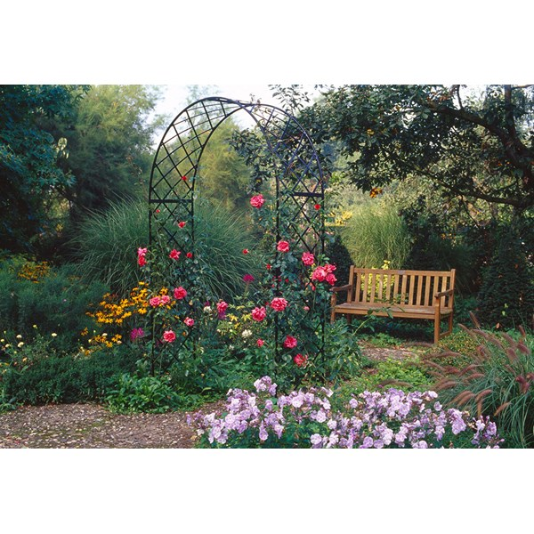 Bagatelle Garden Arch - Steel Powder Coated Black