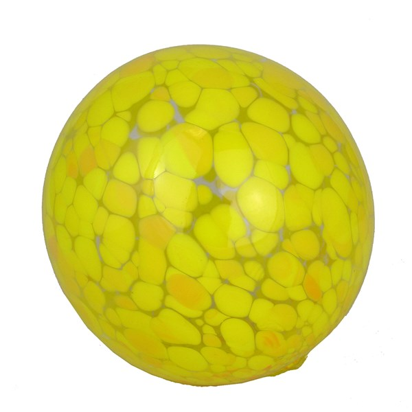 Ornamental Pond Ball - Spotted Yellow