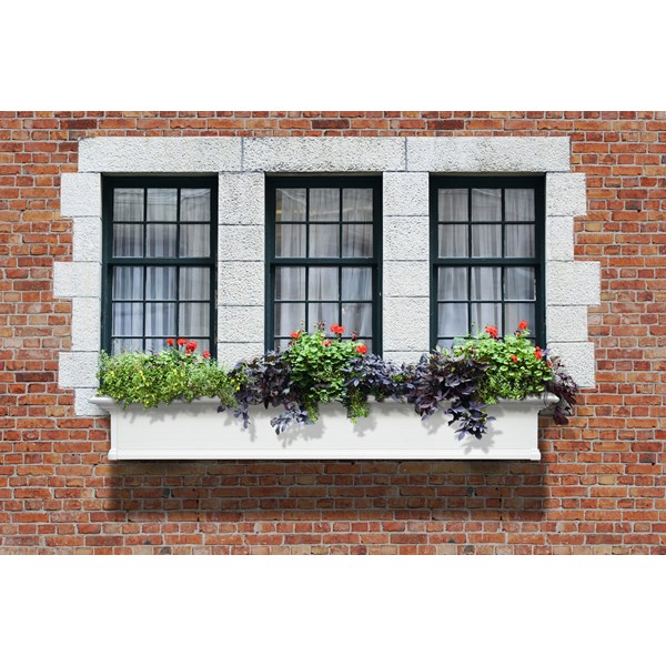 Yorkshire 6' Window Box - White