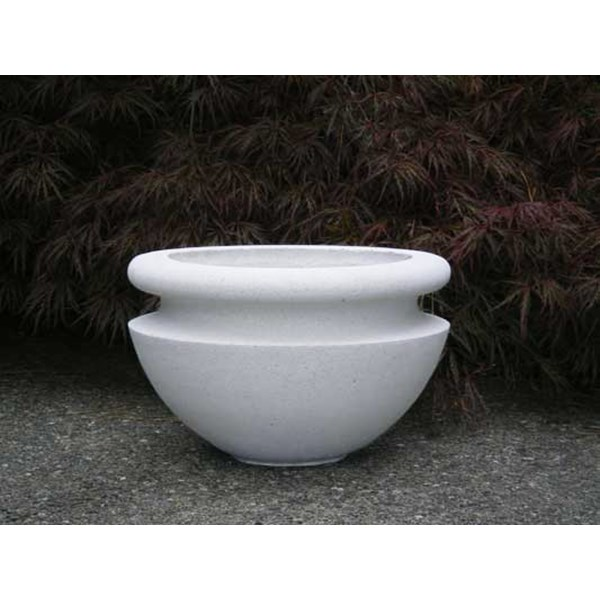 Orchard Bowl in Limestone