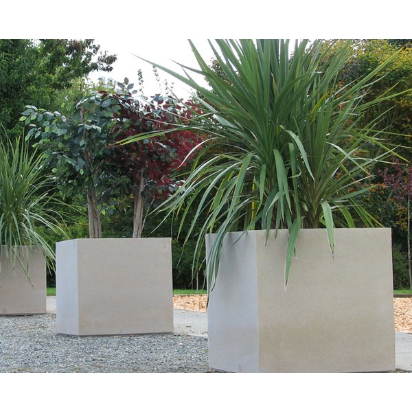Warwick planters in Pewter