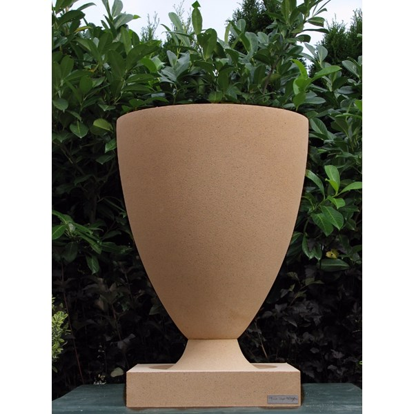 FLW American Systems Built House Vase in Terracotta
