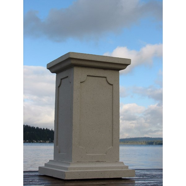 French Pedestal - Limestone