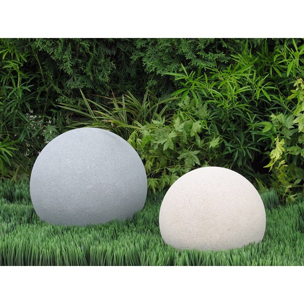 Spheres in Pewter & Creme