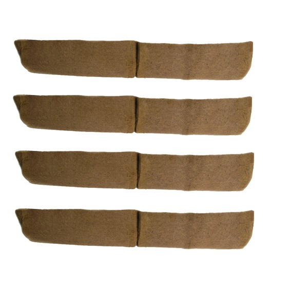 "4 - 72"" long replacement coco liners for window hayracks"