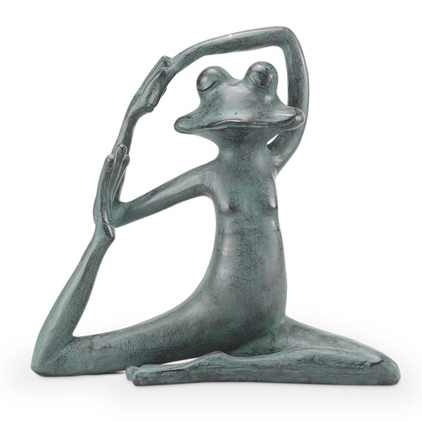 Relaxed Yoga Frog