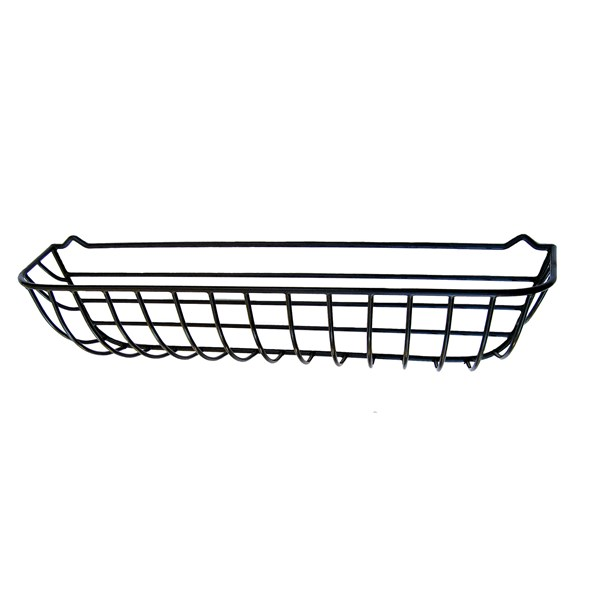 "44"" Window Hayrack - steel with black plastic coating"
