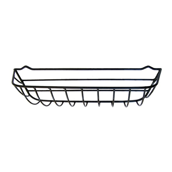 "30"" Window Hayrack - steel with black plastic coating"