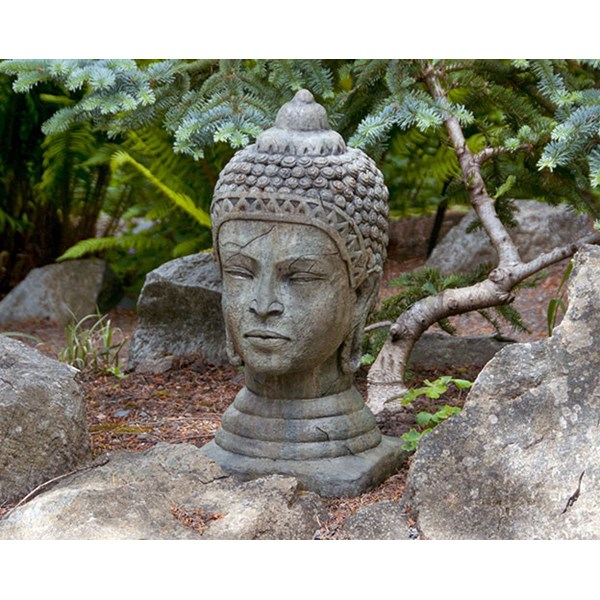 Head of Buddha - Western Slate
