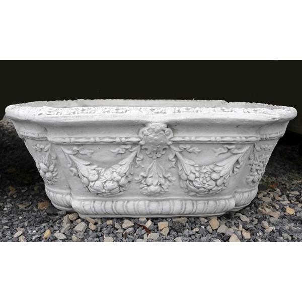 Victorian Planter with Marble finish